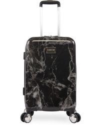 Bebe Marbled 21-inch Carry-on Bag - Black