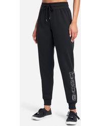Bebe Sport Sequin Logo Jogger Pant - Black
