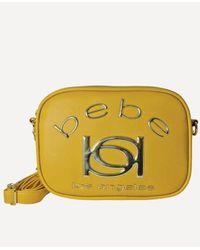 Bebe Kayla Camera Crossbody - Yellow