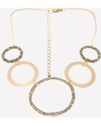 Bebe - Multi-ring Necklace - Lyst
