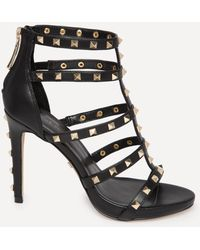 Bebe - Sophia Studded Sandals - Lyst