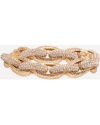 Bebe - Crystal Link Bracelet - Lyst