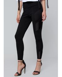 Bebe - Mashup Leggings - Lyst