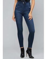 Bebe - Rhaella High Waist Jeans - Lyst