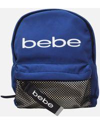 Bebe Melodia Mini Backpack With Mask - Blue