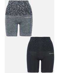 Bebe 2 Pack Seamless Thigh Shaper Set - Grey