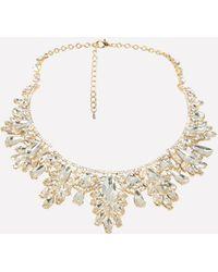 Bebe - Ornate Statement Necklace - Lyst
