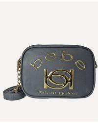 Bebe Kayla Camera Crossbody - Grey