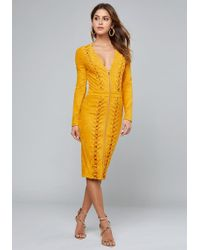 701d4547eb Bebe Dresses - Women's Bebe Dresses on Sale Online Sale - Lyst