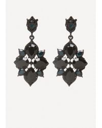 Bebe - Starburst Drop Earrings - Lyst