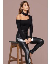 Bebe - Keegan Ribbed Bodysuit - Lyst