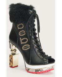 Bebe Capitol Ankle Boots - Black