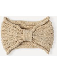 Bebe - Knotted Knit Headband - Lyst