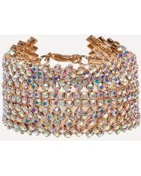 Bebe - Crystal Statement Bracelet - Lyst