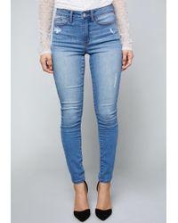 Bebe - Hourglass Skinny Jeans - Lyst