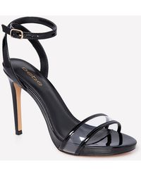 ba424f120f1 Bebe Adel Strappy Sandal in Black - Lyst