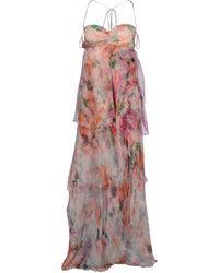 Patrizia Pepe Long Dress - Lyst