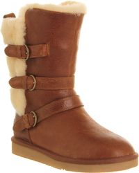 Ugg Becket Buckle Boot - Lyst