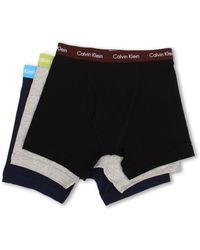 Calvin Klein Cotton Stretch Boxer Brief 3-Pack Nu2666 - Lyst