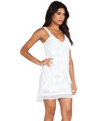 Dress The Population Charlotte Mini Dress - Lyst