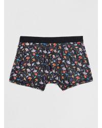 Topman Mushroom Print Pants - Lyst
