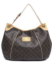 Louis Vuitton Pre-Owned Monogram Canvas Galliera Gm Bag - Lyst