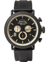 Shinola The Runwell Contrast Chronograph Watch 47mm - Lyst