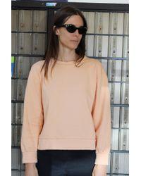 Beklina - Live-in Sweatshirt Peach - Lyst