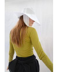 Beklina Tie Hat White