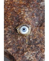Beatriz Palacios Eye Brooch - Multicolour