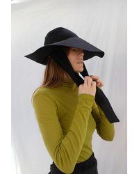 Beklina Tie Hat Black