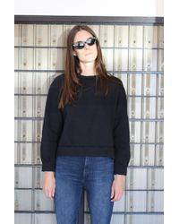 Beklina - Live-in Sweatshirt Black - Lyst