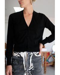 Beklina Knit Cardigan Black / Cashmere