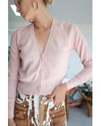 Beklina Cashmere Cardigan Petal - Pink