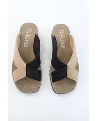 Beklina Water Sandal Slide Black/sand