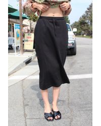 Kowtow - Building Block Skirt Black - Lyst
