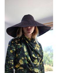 Beklina - Voluminoso Hat Black - Lyst