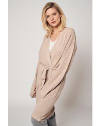 Bellemere New York - 100% Cashmere Wrap Cardigan - Lyst