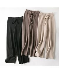 Bellemere New York Cashmere Leisure Trousers - Black