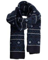 SELECTED - Todd Jaquard Scarf Vintage - Lyst