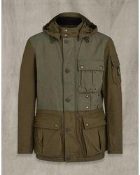 Belstaff Longwing Jacke - Grün
