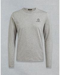 Belstaff Long Sleeved T-shirt - Gray
