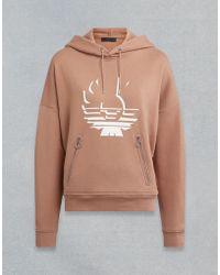 Belstaff - Devonia Phoenix Hooded Sweatshirt - Lyst