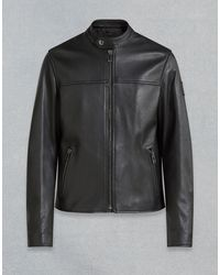 Belstaff - Pelham Leather Jacket - Lyst