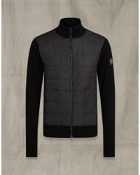 Belstaff New Kelby Zip Cardigan - Black