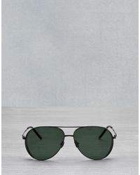 Belstaff - Archer Aviator Sunglasses - Lyst
