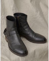 Belstaff Trialmaster Leather Boots - Multicolour