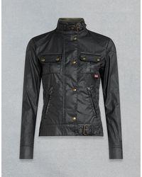Belstaff Gangster Waxed Jacket - Black
