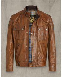 Belstaff Gangster 2.0 Jacket - Brown