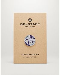 Belstaff Motor Club Enamel Badge - Multicolour